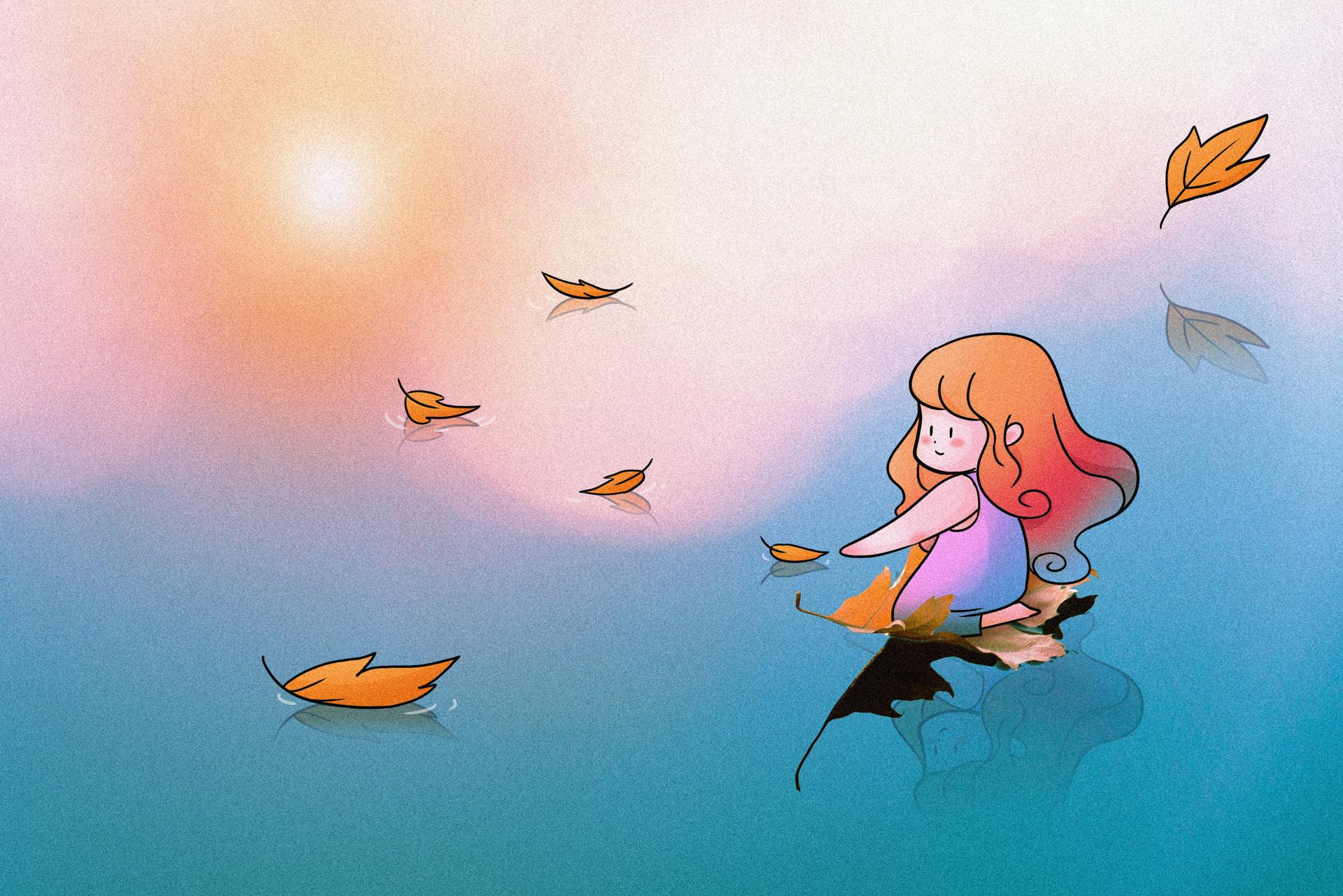 胎教故事280个必读:一片飞翔的叶子